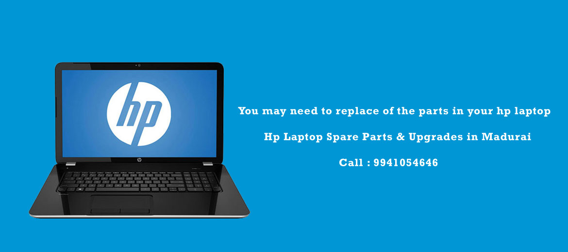 hp laptop spare parts in madurai
